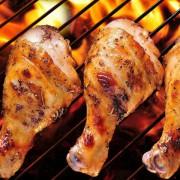 Шашлык из куриной голени